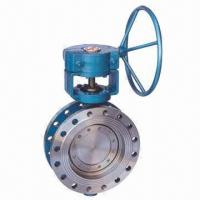 Triple Eccentric Flanged Butterfly Valve, Customized Materials Accepted Manufactures