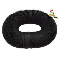 Non Insulated Vent Fire Rated Flexible Ducting Aluminum Foil With Glass Fiber Manufactures