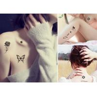 China Custom Made Removable Temporary Body Tattoo Stickers For Men / Boys / Guys on sale