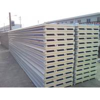 Buy cheap Waterproof  Polyurethane Roof Sandwich Panel Color Steel Sheet from wholesalers