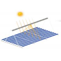 130mph Wind Load Solar Thermal System , Galvanized Solar Electric Heating Systems Manufactures