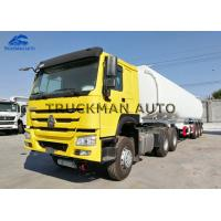 China Carbon Steel Semi Trailer Fuel Tank , Oil Truck Tanker With Fuwa Axles on sale