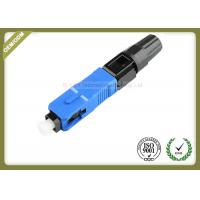 China Professional Fiber Optic Accessories SC UPC SM MM Fiber Fast Connector 52~55mm Length on sale