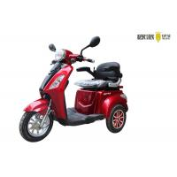 3 Wheel Long Range Electric Mobility Scooter Disabled Person 1000W Motor Power Manufactures