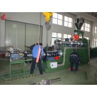 China 185KW PVC Plastic Pellet Machine , 0.015mm Two Stage Pelletizer Machines on sale