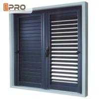Safety and Environmental exterior Aluminum Plantation Shutters Ventilation In Homes Manufactures