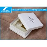 Handmade Luxury Cosmetic Packaging Boxes / Storage Box With White EVA Insert Manufactures