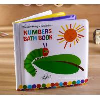China Number Learning Education Baby Bath Book Soft EVA Bath Book for Children Bath Good Time on sale