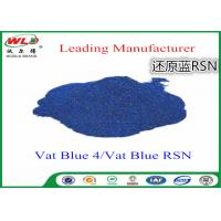 China Cotton Dyes Blue Dye Stuff Rsn Vat Blue 4 Chemicals Used In Textile Dyeing on sale