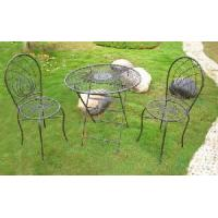 China Wrought Iron Garden Table Sets (PL08-2130) on sale