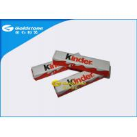 Optimum Flatness Chocolate Foil Paper Wrappers For Chocolate Bar 1 - 10 Colors Printing Manufactures