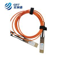 40G AOC QSFP+ 850nm multimode 3m Fiber Optical Transceiver Module Manufactures