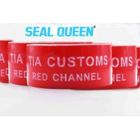 Red Tamper Evident Sealing Warranty VOID OPEN Tape Transfer Security Seal Tape Manufactures