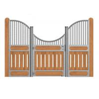 Indoor Heavy Duty Metal Stall Doors , Portable Horse Stall Kits With Horse Stall
