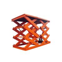 China CE Approved 4 Ton Electric Lift Platform 4000kg Hydraulic Car Scissor Lift Table on sale