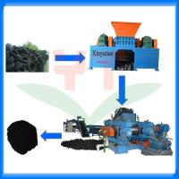 Automatic waste tyre recycling machine/tire recycling production line