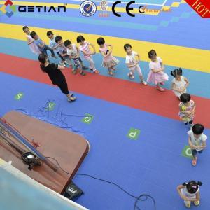 China Modular Sports Flooring For Outdoor Field Kindergartener Playground on sale