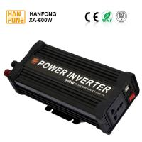 China High Frequency XA600watt solar inverter Car power inverter 600W 12V DC AC110V 220V power inverter with USB dual charger on sale
