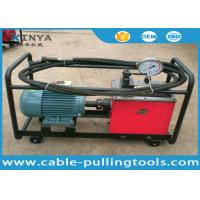China Double Acting Oil Pump High Pressure Pump With Electric Engine For Overhead Line Transmission on sale