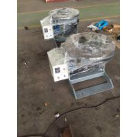 10Ton Rotary Welding Turntable Speed Adjust By Inverter , Motorized Tilt And Rotaion Manufactures