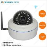 Vandalproof 2 Megapixel 1080p ONVIF Wireless IP Camera Manufactures