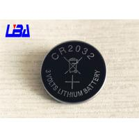 Standard 3.0g Lithium Cell Battery , 240mAh Cr2032 3v Battery  For Camera Manufactures