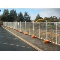 Interlocking Removable Steel Temporary Fencing , Portable Fence Panels Manufactures