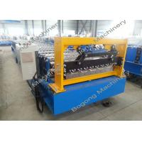 China Roof Sheet Metal Roll Forming Machine /  Aluminium Sheet Roofing Machine on sale