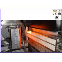 ISO 5658 - 2  ZY6263 - PC Vertical Flammability Chamber For IMO Flame Creeping White Manufactures