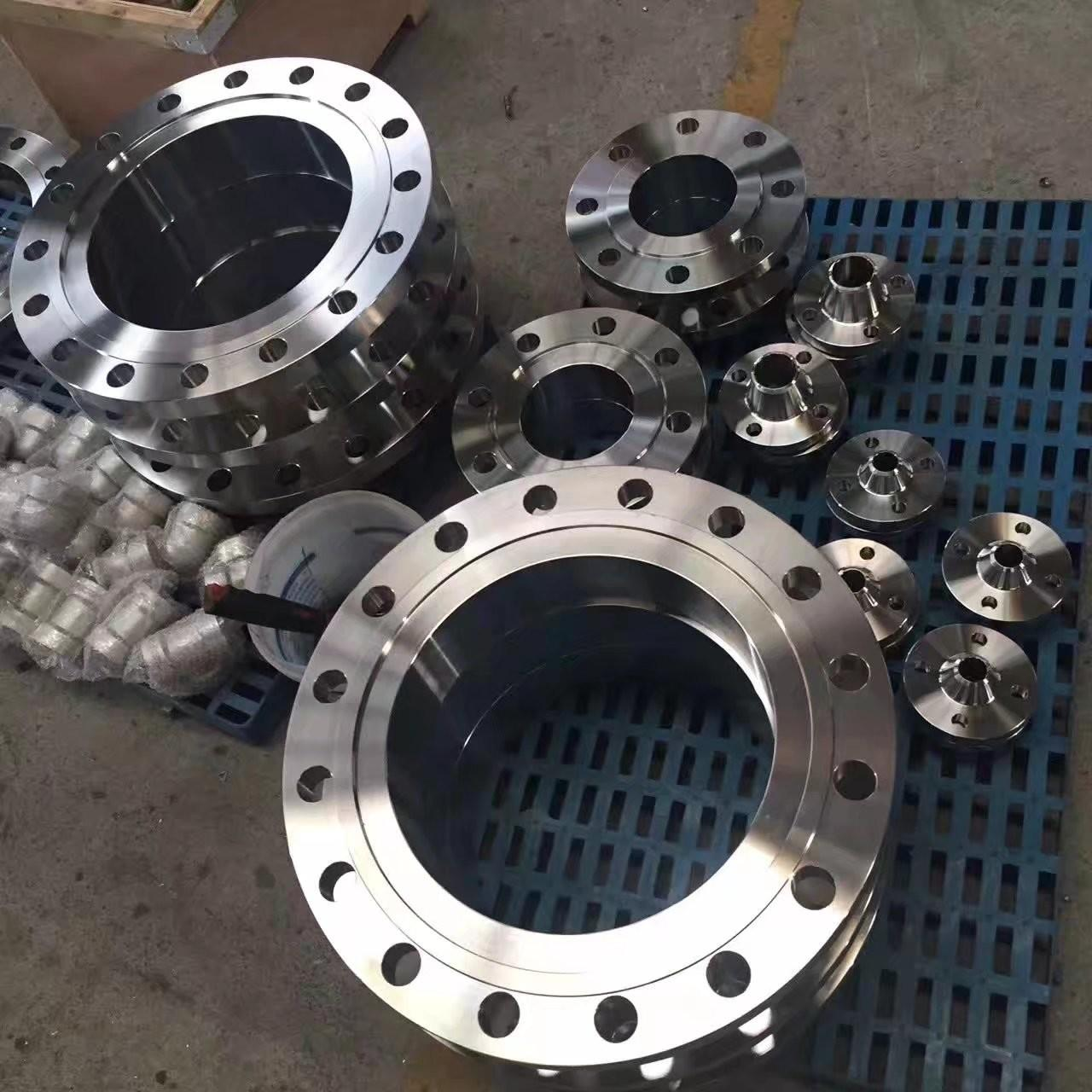 China ASME B16.47 Flat Face Weld Neck Flange , Long Weld Neck Flange 300lbs Pressure  Ameriforge/Coffer/Texas Metals (USA), on sale