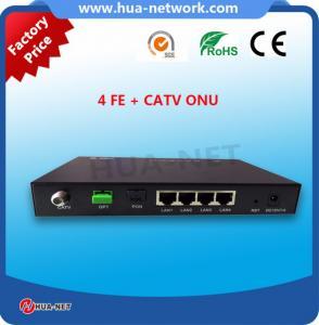 China FTTH Catv Optical Receiver 4FE Gpon/Epon Ont CATV on sale