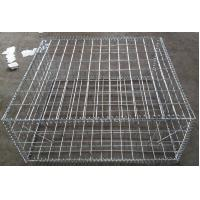 Silver High Strength Gabion Wire Mesh Anti Corrosion Square Hole Shape Manufactures