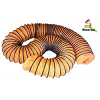 HVAC system size and length customized round high temperature flexible duct Manufactures