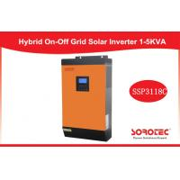 5kVA High Frequency Solar Power Inverters for Office Building / Factory , Orange Color Manufactures