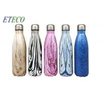 350ml - 1000ml Stainless Steel Drink Bottles Vacuum Flask Water Bottle For Travel Manufactures