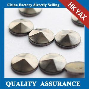 iron on studs convex manufcturer;china convex studs iron on supplier; iron on convex studs Manufactures