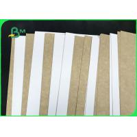 Quality Hard Stiffness 250gsm - 365gsm Coated White Top Kraft Liner For Food Packages for sale