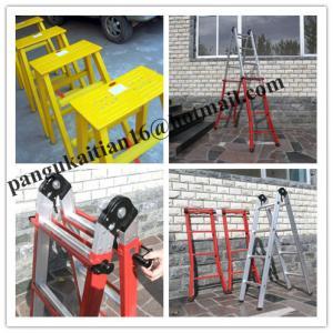 Quality Life Safe ladder&fiberglass material&Insulation ladder for sale