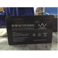 Gray 14ah 12 Voltage High Capacity Lead Acid Battery Rechargeable in Electric Bicycle