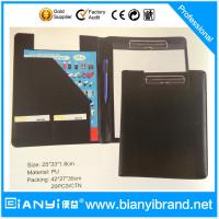 China PU presentation folder with CD pocket on sale