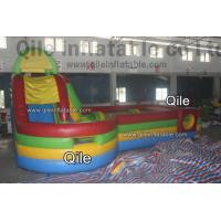 0.55mm PVC Tarpaulin Inflatable Sports Games , Inflatable Amusement Park Manufactures