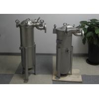 Personalized Water And Liquid Bag Filter Housings Single Bag / Multiple Bags Manufactures