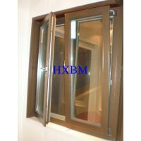 Sound Proof Aluminium Clad Timber Windows 90mm Thickness For Apartments Manufactures