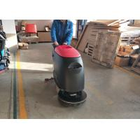 Safety Seats Industrial Floor Cleaning Machines For Workshop / Automatic Floor Scrubber Manufactures