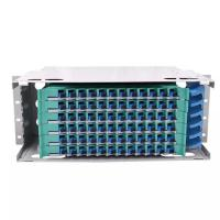 China 72 Core Fiber Distribution Frame With Large Capacity Rack Mount Sliding Type on sale