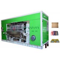 Rotary Recycle Paper Pulp Molding Pulp Egg Tray Making Machine With 8 Sides Manufactures