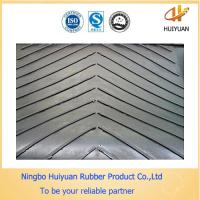 High Tensile Strength Chevron V Shape Cleated Conveyor Belting Manufactures
