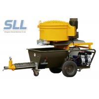 Electric Epoxy Wall Putty Sprayer / Cement Mortar Plastering Machine 2.2kw Power Manufactures