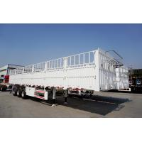 3 axles fence trailer  heavy transport trailers for sale  - CIMC Manufactures
