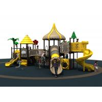 1270 * 900 * 580 CM Outdoor Playground Equipment For Hostipal Preschool Playgrounds Manufactures